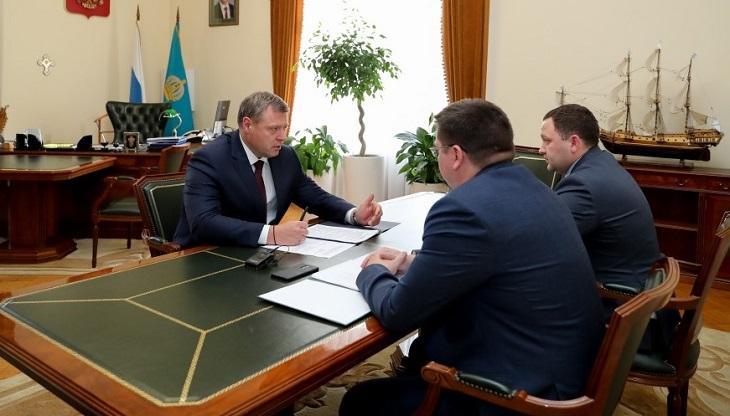 Астраханскому губернатору представили нового руководителя Росприроднадзора