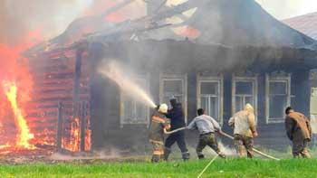 В Капустином Яру сгорел жилой дом