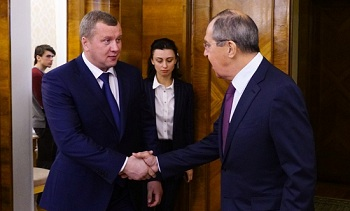 Сергей Морозов и Сергей Лавров обсудили прикаспийское развитие