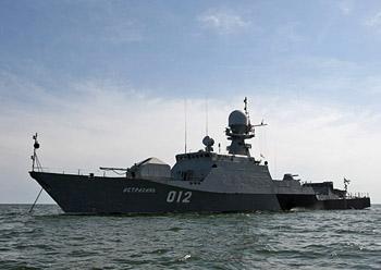 В Астрахани пройдёт морской бой
