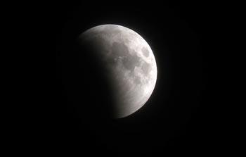 Жители Астрахани смогли увидеть лунное затмение