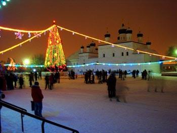 О погоде в Астрахани на новогодние каникулы