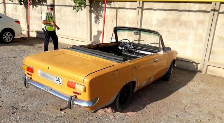 Астраханец оштрафован за неформатный автомобиль