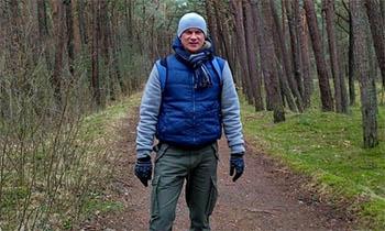 Калининградский путешественник пойдет вдоль Волги от Астрахани до Кинешмы