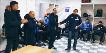 Футболистам «Волгаря» представили нового главного тренера