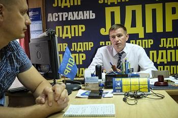 Лидер астраханской ЛДПР готов к выборам губернатора. Интервью с Тимофеем Щербаковым