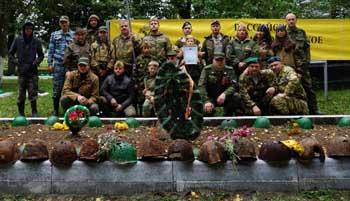 Астраханские поисковики обнаружили 85 фрагментов останков солдат ВОВ