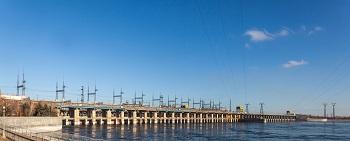 На Волжской ГЭС увеличивают объём сбрасываемой воды