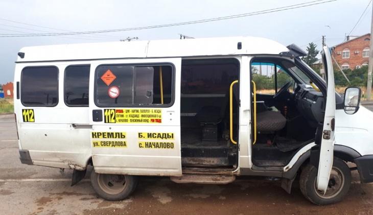 В Астрахани продолжается маршруточный беспредел