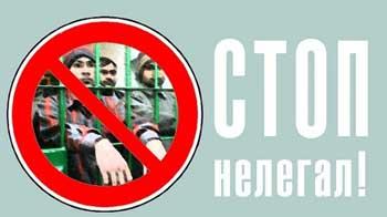 На восемь месяцев принудительно задержится в России настырный нелегал