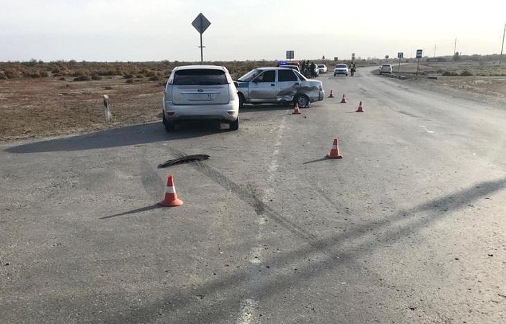 В ДТП под Астраханью по вине трезвого водителя выявлен пьяный водитель