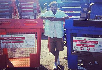 В Астрахань привезли евро-контейнеры для бумаги и пластика