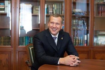 Первое интервью врио губернатора Астраханской области Сергея Морозова