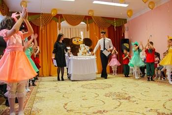 Сегодня в мкр Бабаевского открылся детский сад на 330 мест