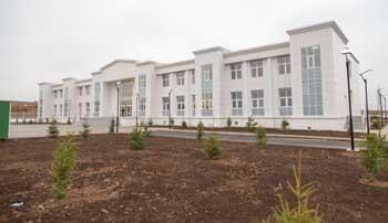 В Астраханской области открыли построенную по просьбе главы Туркмении школу