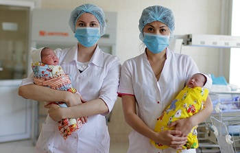 Близнецы – тренд для Года здоровья в Астрахани