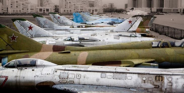 В Астраханскую область прибыло списанное имущество министерства обороны
