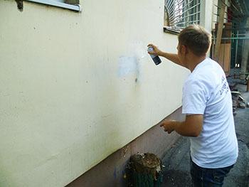 Астрахань заполонили тысячи надписей с рекламой наркотиков