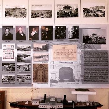 В Музее истории города обновили экспозицию «Астрахань купеческая»