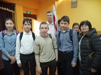 В Приволжском районе прошёл «Олимпийский открытый урок» с чемпионом Тюменцевым