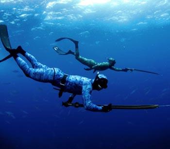 Под Астраханью задержаны два подводных рыбака