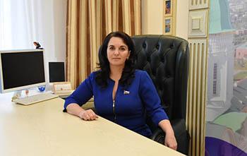 Новогоднее поздравление главы МО «Город Астрахань» А. В. Губановой