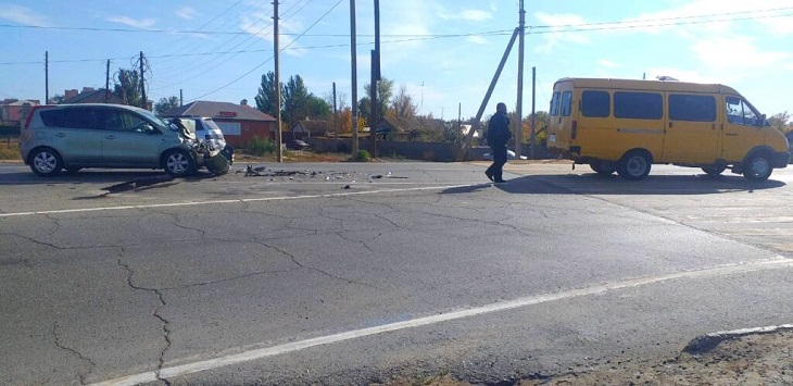 В Астраханской области по вине матери-водителя пострадал малыш