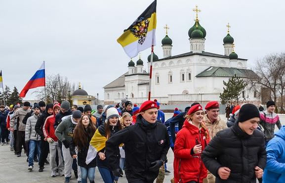 Русский дух возобладал над пробежкой в Астрахани