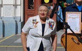 Любовь Гарливанова, поздравляем!