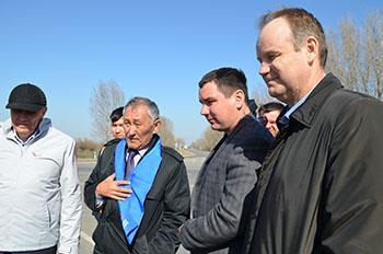 В Астраханской области оценивают состояние  «Безопасных и качественных дорог» после зимовки