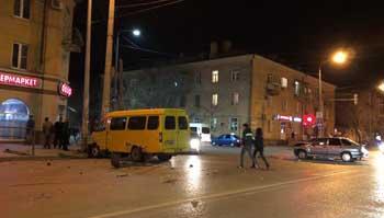 Две крупные аварии за выходные в Астрахани