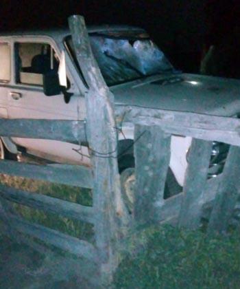 Кусок забора проткнул водителю грудь в Астраханской области