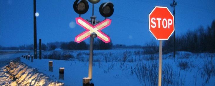 Железнодорожный переезд в Ахтубинском районе будет временно закрыт