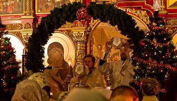 Астраханцы встречают Рождество Христово