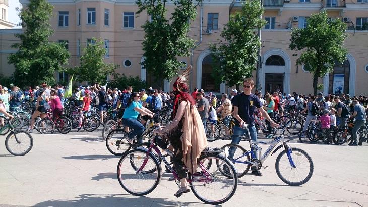 В субботу астраханцев ожидает велопарад