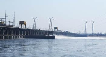 Волжская ГЭС увеличивает сбросы воды