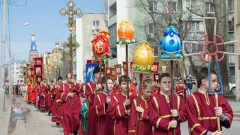 На Пасху в Астрахани пронесут по улицам города великие православные святыни