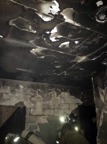 В астраханском микрорайоне Бабаевского вновь пожар: спасено 20 человек