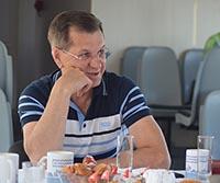 Как отметил губернатор День блогера и о чём поведал гостям на борту «Астраханца»
