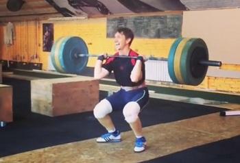 Астраханец побил мировой рекорд прямо на тренировке