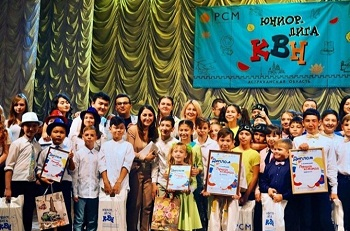 Приволжский район устроил в Астрахани КВН