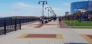 Астраханцы, голосуйте за малую архитектурную форму для набережной!