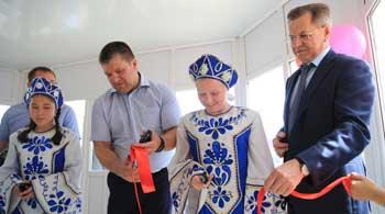 В городе Харабали открылся детский центр «Алые паруса»