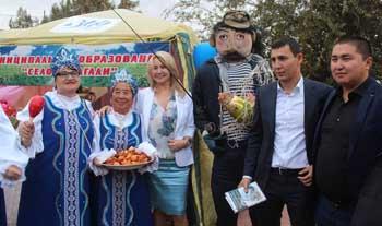 300-летие Астраханской губернии отпраздновали в Приволжском районе