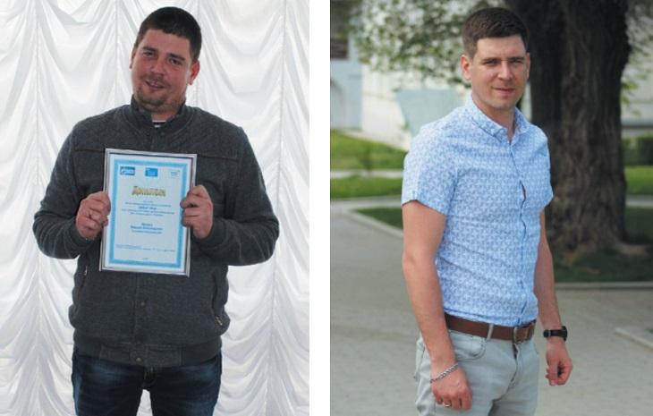 Астраханский газовик поделился секретом похудания