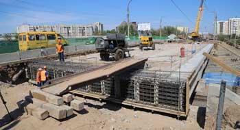 """Путепровод """"Вокзальный"""" ремонтируется с опережением графика. Под контролем губернатора"""