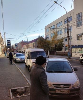 В Астрахани массово нарушаются Правила дорожного движения