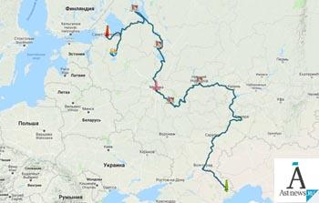 Астрахань примет экспедицию из Санкт-Петербурга