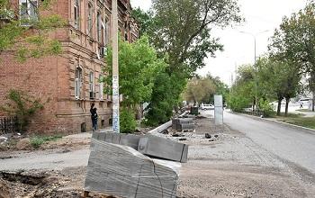 Водители и пешеходы скоро не узнают Красную Набережную в Астрахани