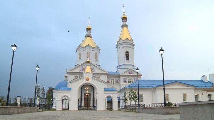 Село Цветное может гордиться новым храмом